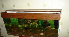 Как сделать крышку из пластика для аквариума
