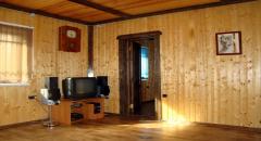 Как утеплить каркасный дом и обшить стены вагонкой