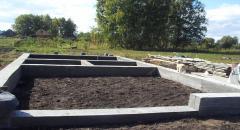 Фундамент для загородного дома