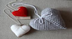 Как связать сердечко Валентинку крючком