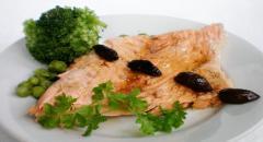 Как запечь лосося в духовке под лимонным соусом