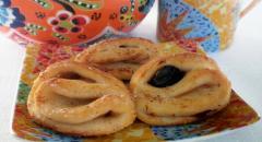Как приготовить творожное печенье с черным изюмом и корицей