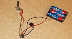 Электронный Сверчок (схема PIC12F675) - игрушка-прикол