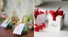 Сувениры и сладости на свадьбу
