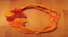 Летние украшения из ткани