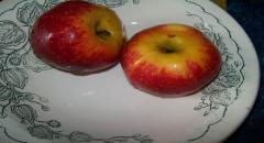 Печеные яблоки в микроволновке - рецепт с фото (мастер класс)