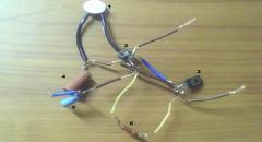 Электронная мигалка