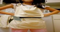 Шьем детский фартук из старой наволочки