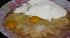 Картофельные блины - вкусный рецепт с мочанкой (фото)