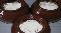 Лисички в горшочках с картошкой - рецепт с фото