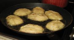 Ленивые пирожки из картофеля