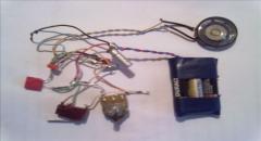 Имитатор звука двигателя и сигнала автомобиля