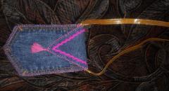 Джинсовая сумочка, как сшить для девочки