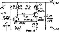Ждущий мультивибратор на транзисторах