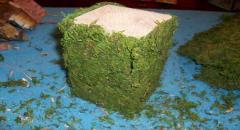 Подсвечник из природных материалов