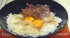 Картофельные и свиные котлеты, 2 в 1 - рецепт