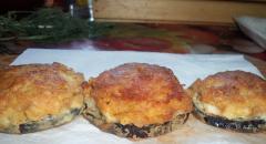 Баклажаны под шубой с мясом - рецепт с фото