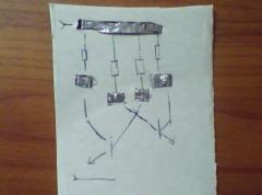 Простой мультивибратор (генератор электрических колебаний)