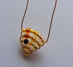 Золотая рыбка из бисера, как сделать - схема, фото, мастер класс Сами своими руками.