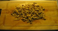 Фаршированные окорочка с грибами - рецепт