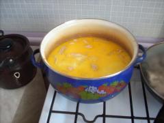 Суп из семги (пюре)