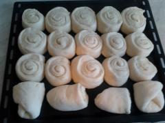 Тесто для булочек - бюджетный вариант - рецепт с фото