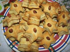 Сдобное печенье домашнее, рецепт с сахаром и корицей - фото