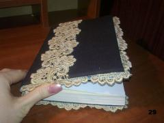 Блокноты ручной работы, технология изготовления