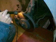 Замена шаровых рычагов передней подвески на Renault Espace IV