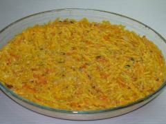 Запеканка из тыквы - рецепт приготовления с фото