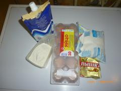 Торт Дамские пальчики - рецепт приготовления с фото