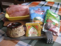 Куриные отбивные в панировочных сухарях - рецепт с фото