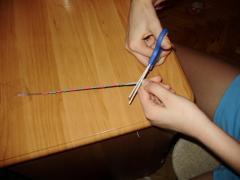 Браслет из ниток, как сделать - схема плетения, фото