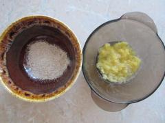 Маска для рук из ананаса, сливок и измельченного геркулеса - смягчает кожу