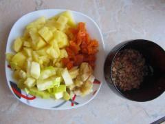 Фруктовый салат с ананасом - рецепт с фото
