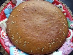 Кекс с кедровыми орешками - рецепт с фото
