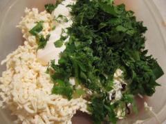 Пикантная закуска с плавленым сыром