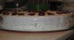 Бисквитный торт с желе - рецепт с фото
