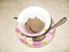 Скраб из кофе для лица с молоком