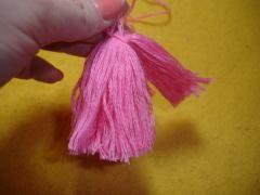 Кисточки своими руками из ниток, для штор, шапок