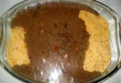 Сладкая колбаса с миндалем - рецепт с фото