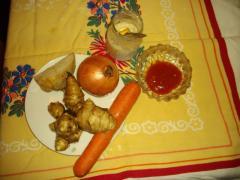 Салаты из топинамбура