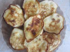 Оладьи с изюмом и яблоками - мастер класс, рецепт с фото