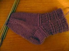 Детские носочки, как связать спицами