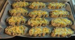 Калитки (финские пирожки) с картошкой - рецепт