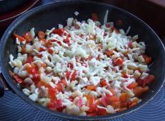 Вьетнамские рисовые блинчики с морепродуктами - рецепт с фото
