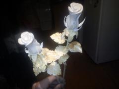 Деревянная роза - изготовление своими руками - фото
