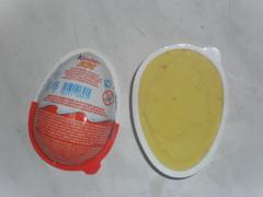 Пасхальное яйцо из холодного фарфора