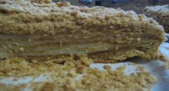 Торт Рыжик медовый