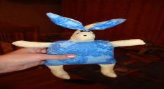 Развивающий заяц - фото и выкройка